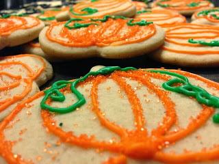 Pumpkin Spice Sugar Cookies 1