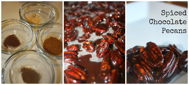 Spiced Chocolate Pecans 3