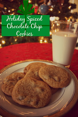 Holiday Spiced Chocolate Chip Cookies 1