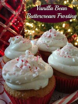 Vanilla Bean Buttercream cupcakes