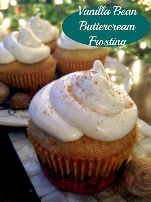 Vanilla Bean Buttercream Cupcake