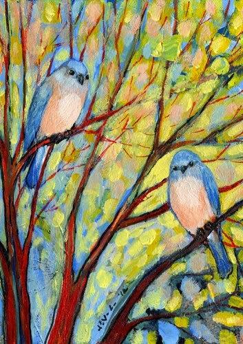 Bird Watch Garden Flag