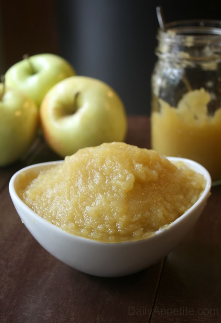 How To Make Applesauce. No Artifical Colors, Flavors, or Perservatives! A simple recipe on how to make applesauce. Control the amount of sugar in your applesauce by making your own applesauce and adjusting the measurements.