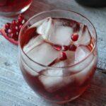 Pomegranate Cocktail - Pomegranate Fizz 1