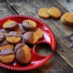 Chocolate Dipped Ginger Snaps 1