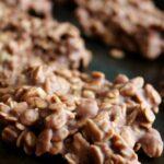 Chocolate Oatmeal No Bake Cookies 1