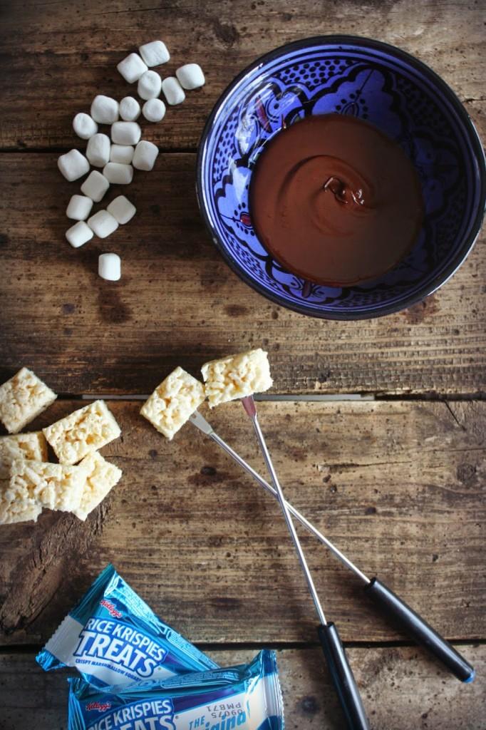 Chocolate Dipped Rice Krispies Treats 3