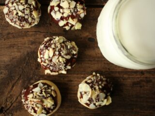 Vanilla Cardamom Nutella Cookies
