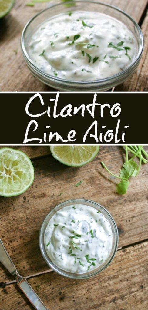 Cilantro Lime Aioli