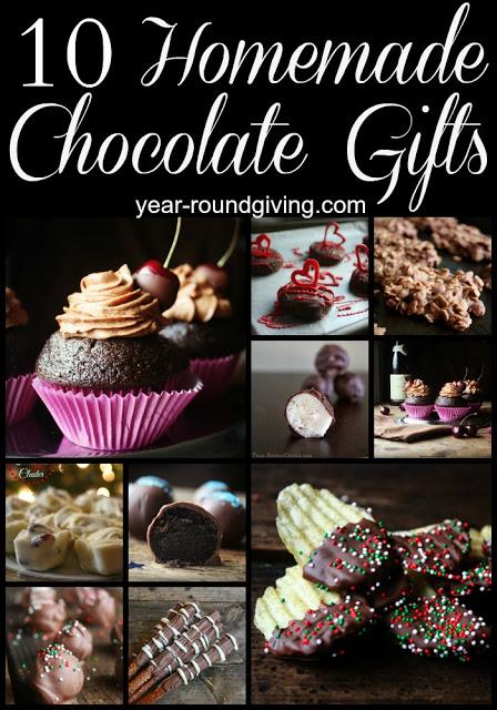Homemade Chocolate Gifts 1