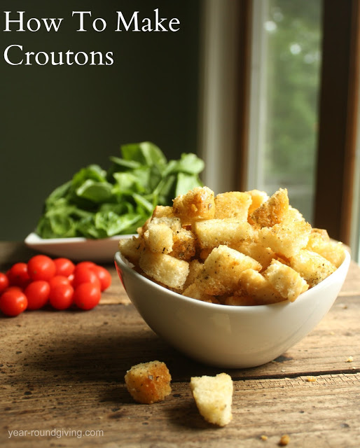 How to Make Croutons: Recipe - Daily Appetite