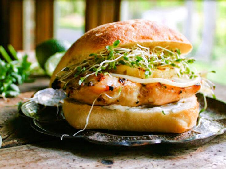 Hawaiian Grilled Chicken Sandwich 2