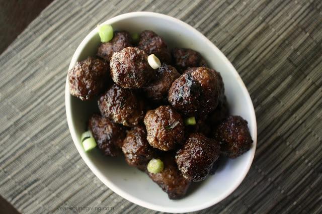 Teriyaki Ginger Meatballs