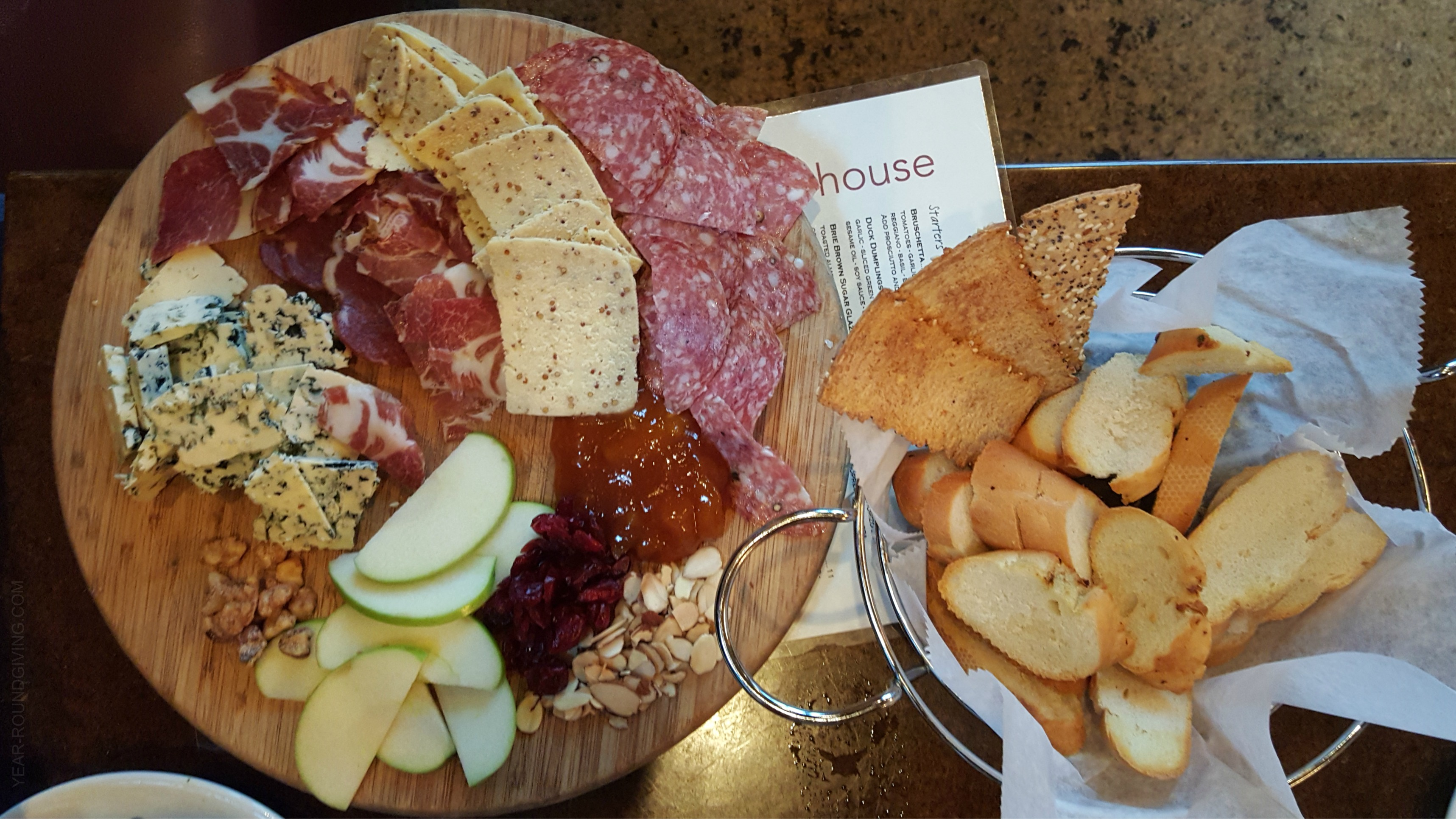 Meat & Cheese Tray Crush Kitchen and Wine House