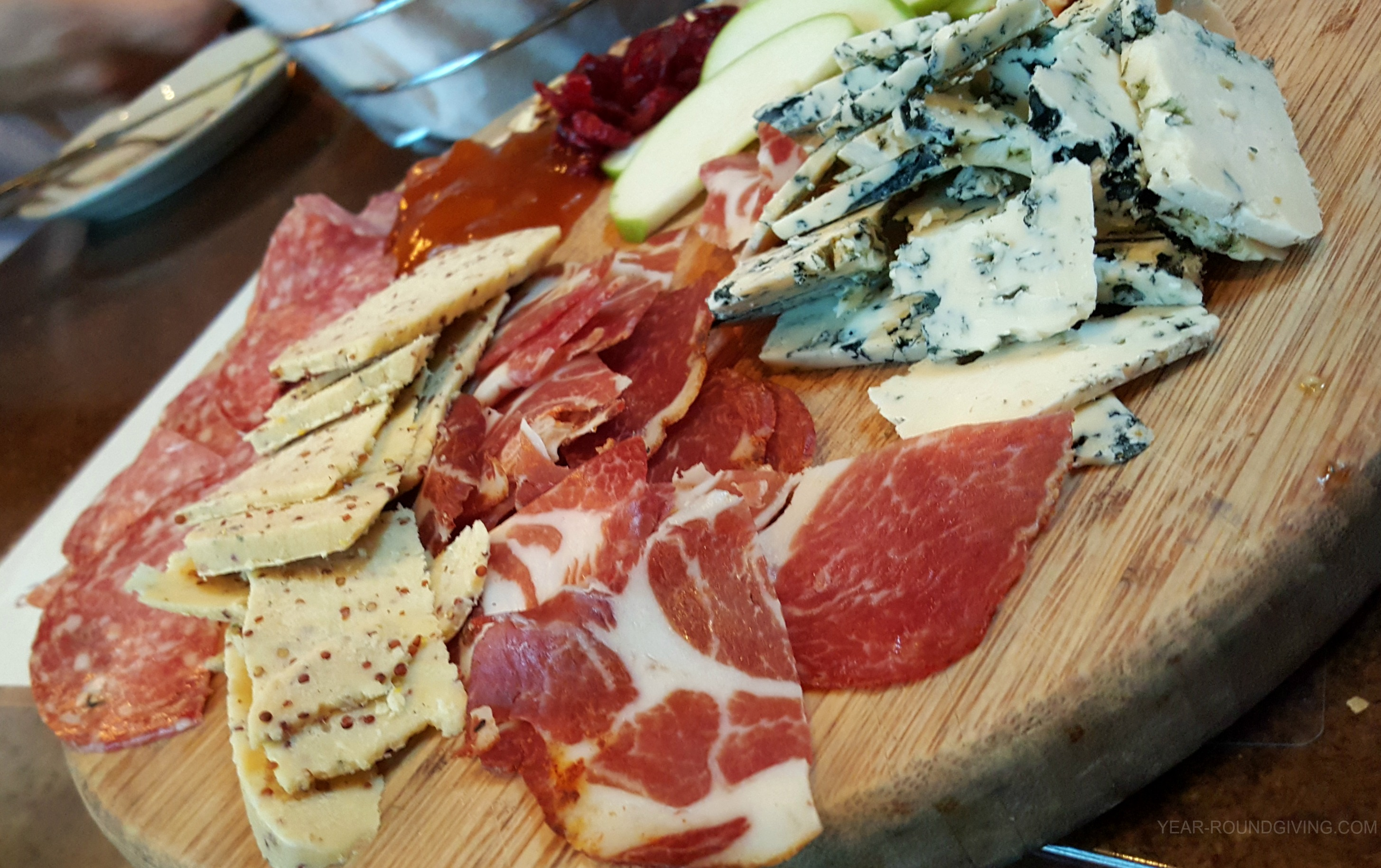 Meat & Cheese Platter Crush Kitchen and Winehouse