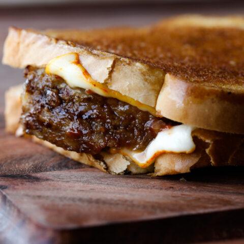Leftover Meatloaf Sandwich