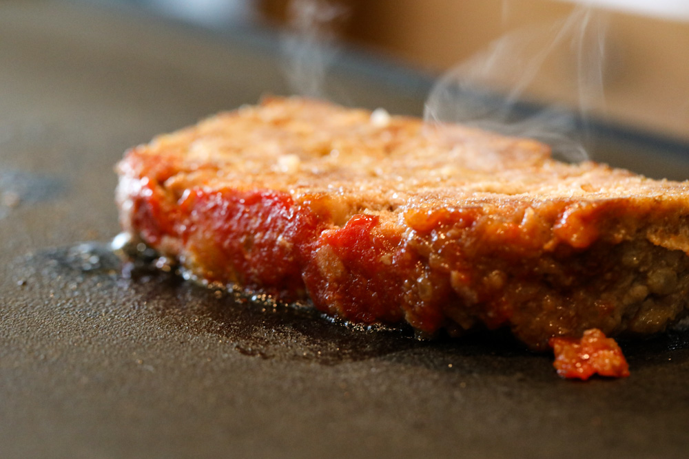 Reheat a Slice of Meatloaf