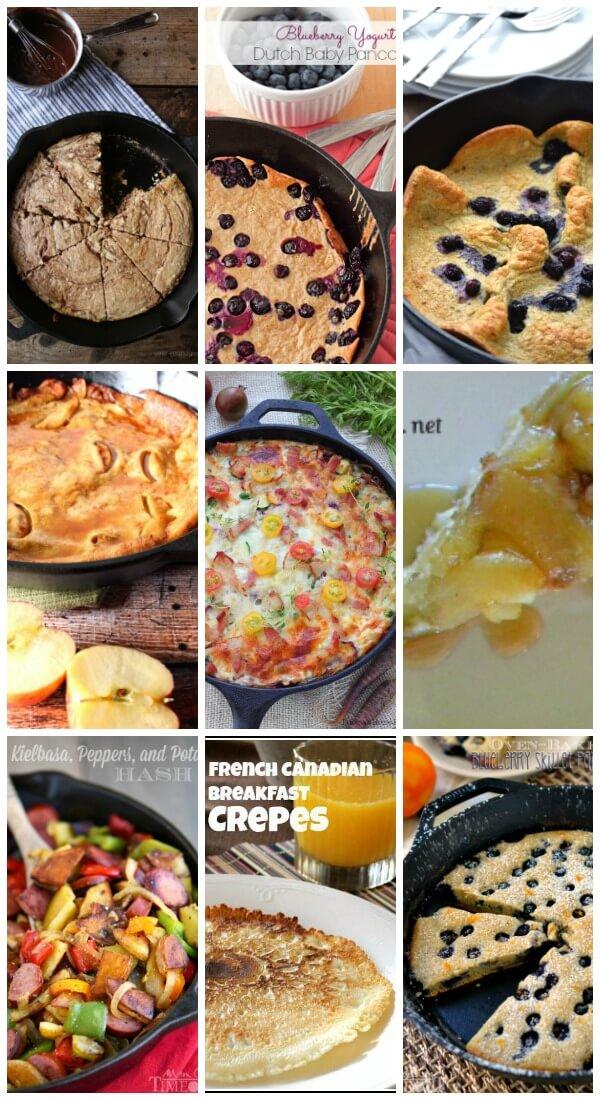 Cast Iron Skillet Breakfast Recipes