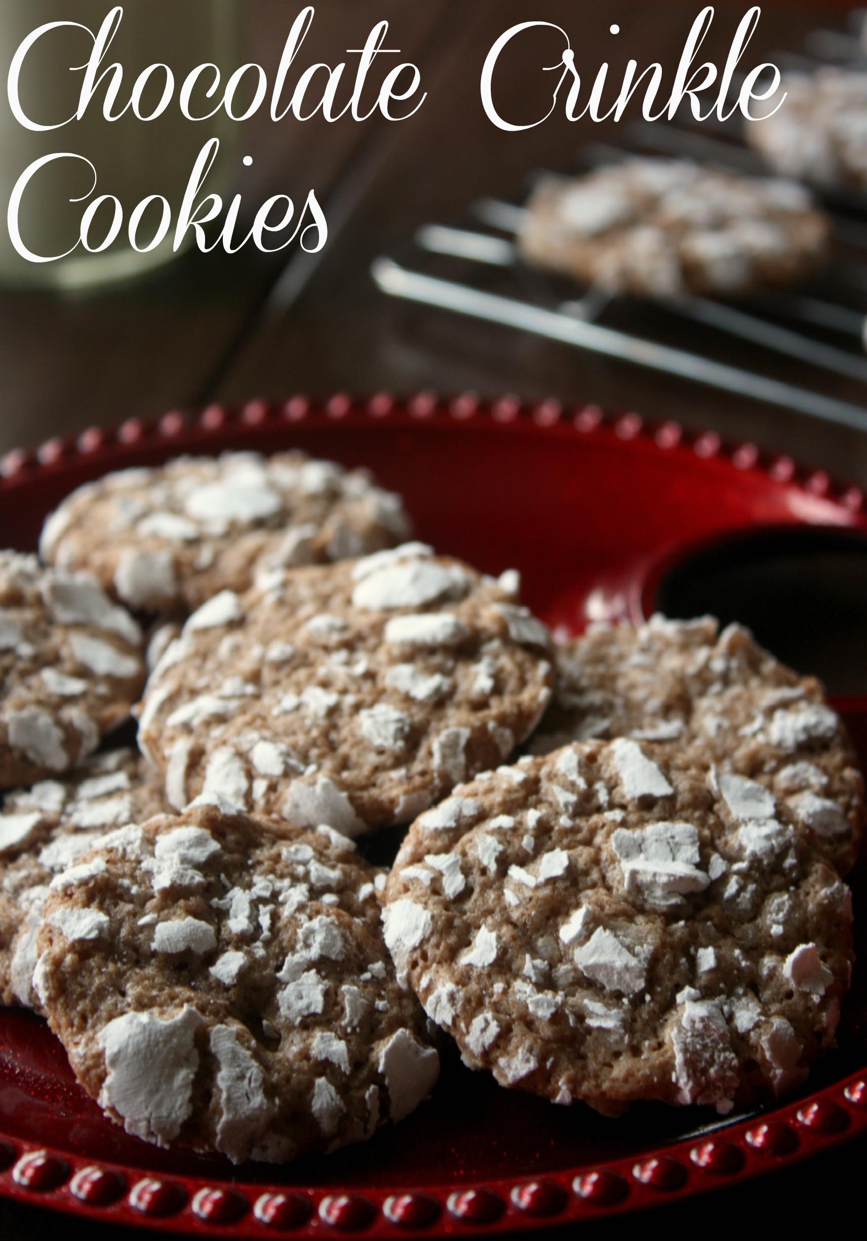 Chocolate Crinkle Cookies My Grandmother Made