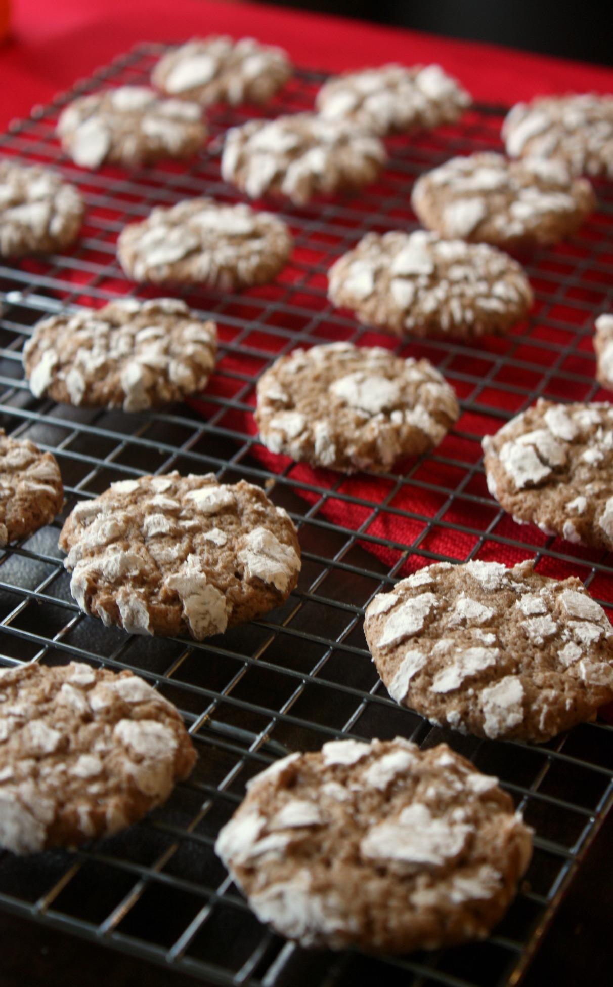 Classic Chocolate Crinkle Cookies