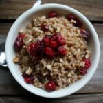 Roasted Cranberry Maple and Brown Sugar Farro 1