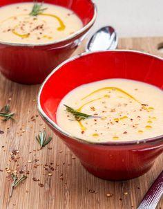 Vegan Creamy Parsnip Soup plus 60+ Parsnip Recipes
