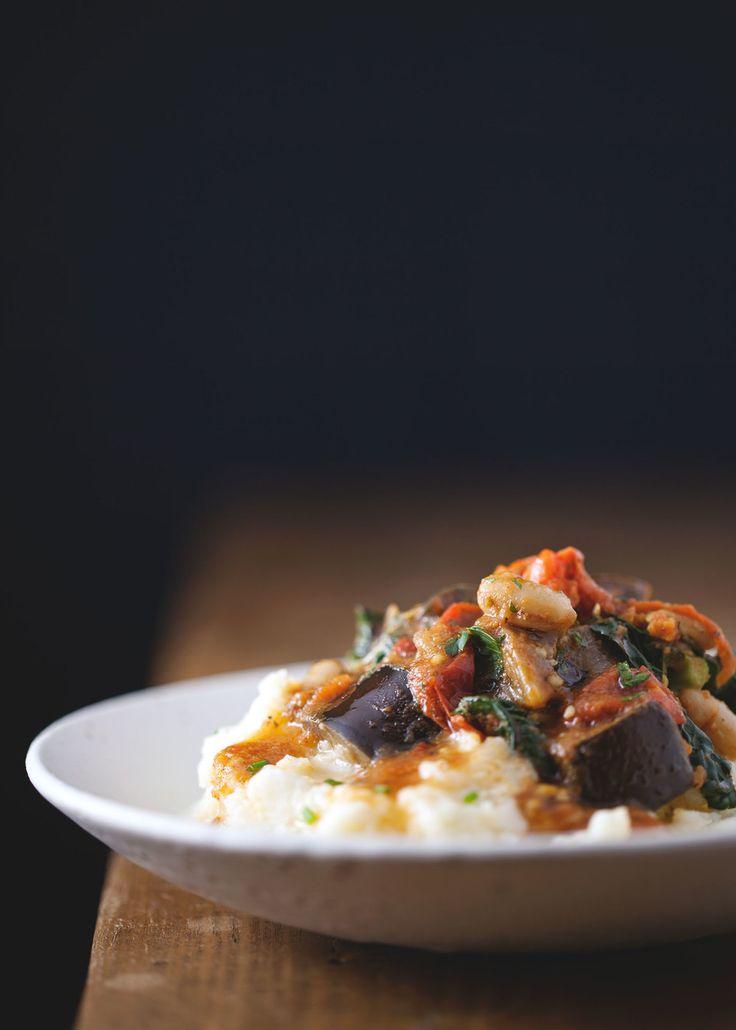Parsnip Mashed Potatoes with Mediterranean Eggplant plus 60+ Parsnip Recipes