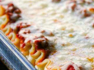 Basic Lasagna with ground beef