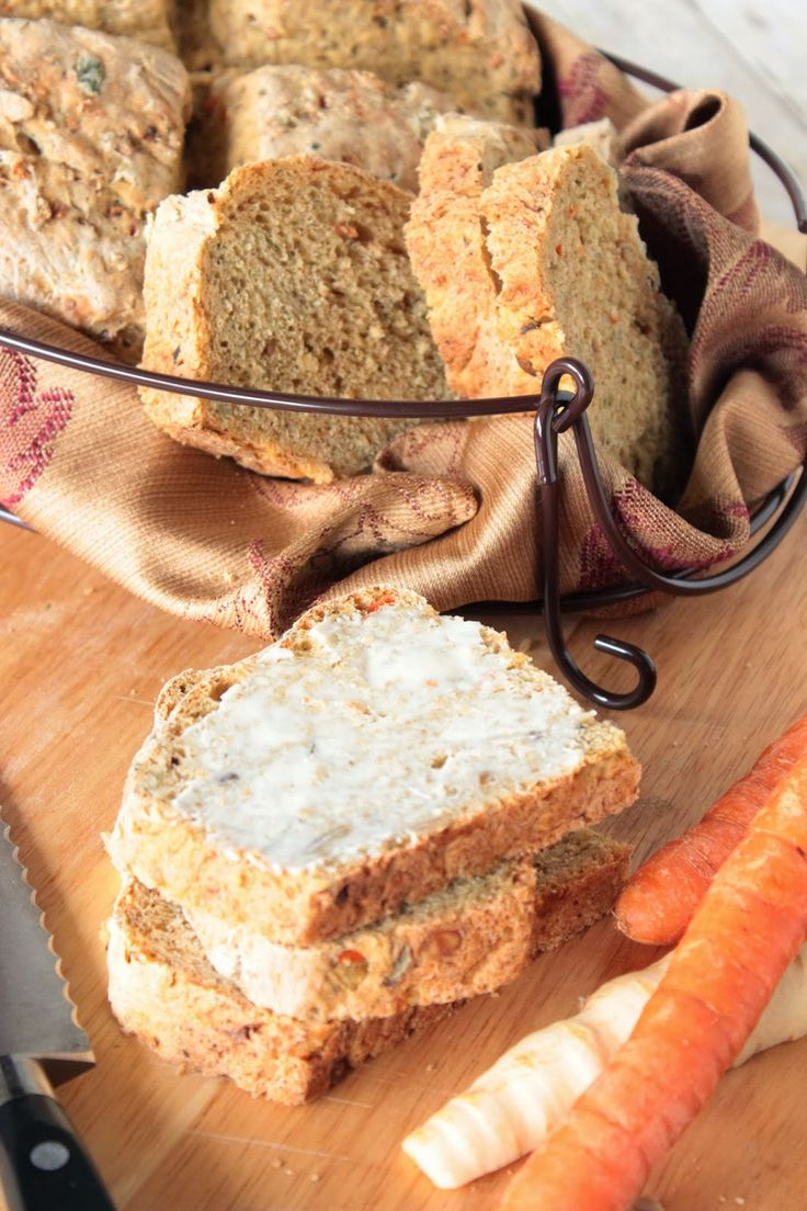 Carrot and Parsnip Bread plus 60+ Recipes using Parsnips