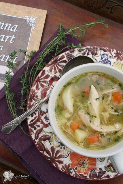 Garlicky Chicken Soup plus 60+ Parsnip Recipes