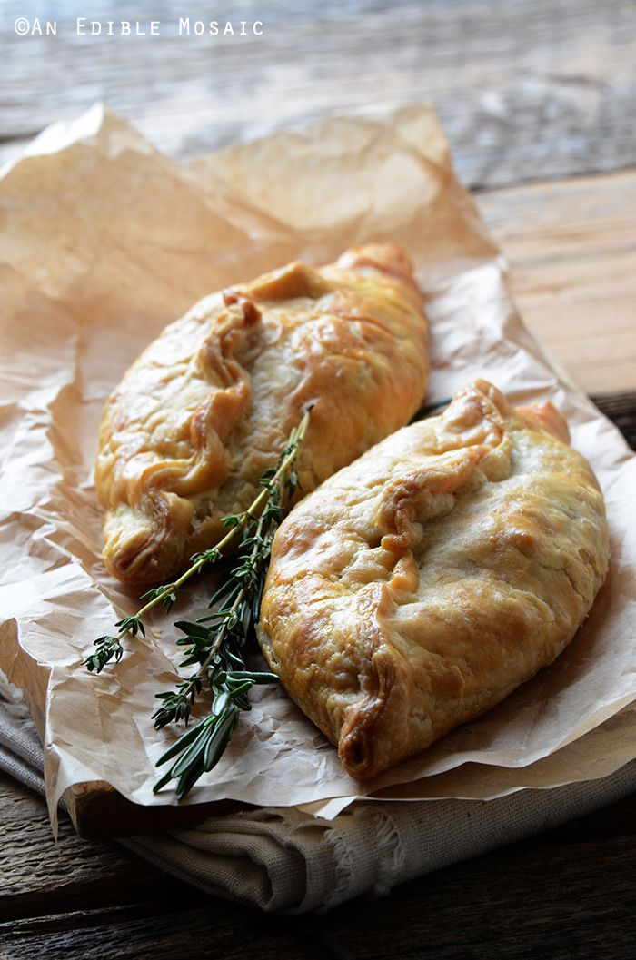 Herbed Beef Pasties with Carrots and Parsnips plus 60+ Recipes for Parsnips
