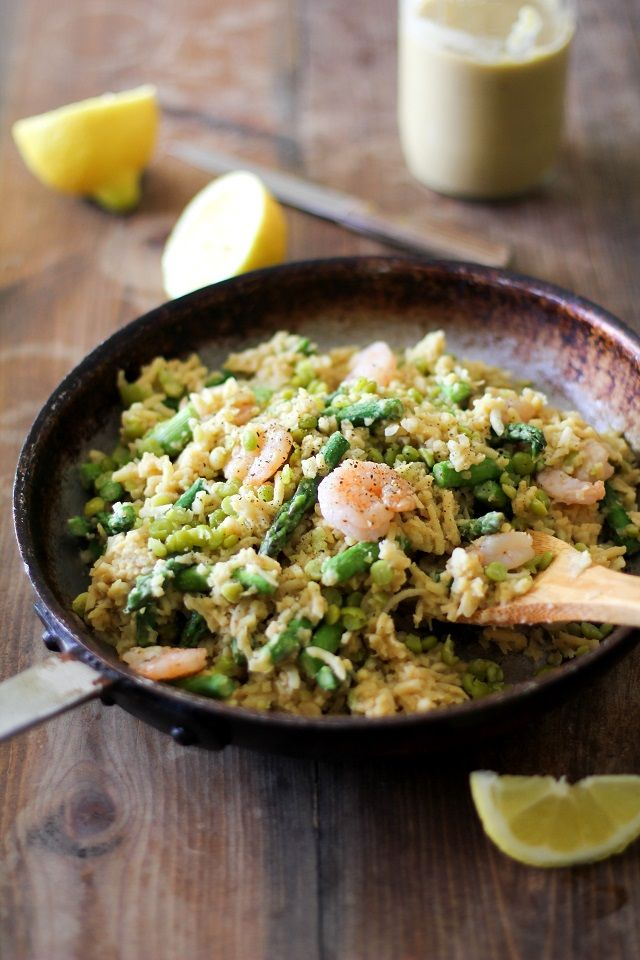 Parsnip Risotto with Chickpea Alfredo Sauce plus 60+ Recipes for Parsnips