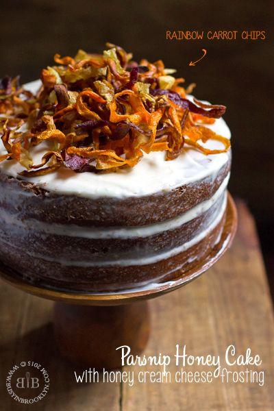 Parsnip Honey Cake plus 60+ Parsnip Recipes