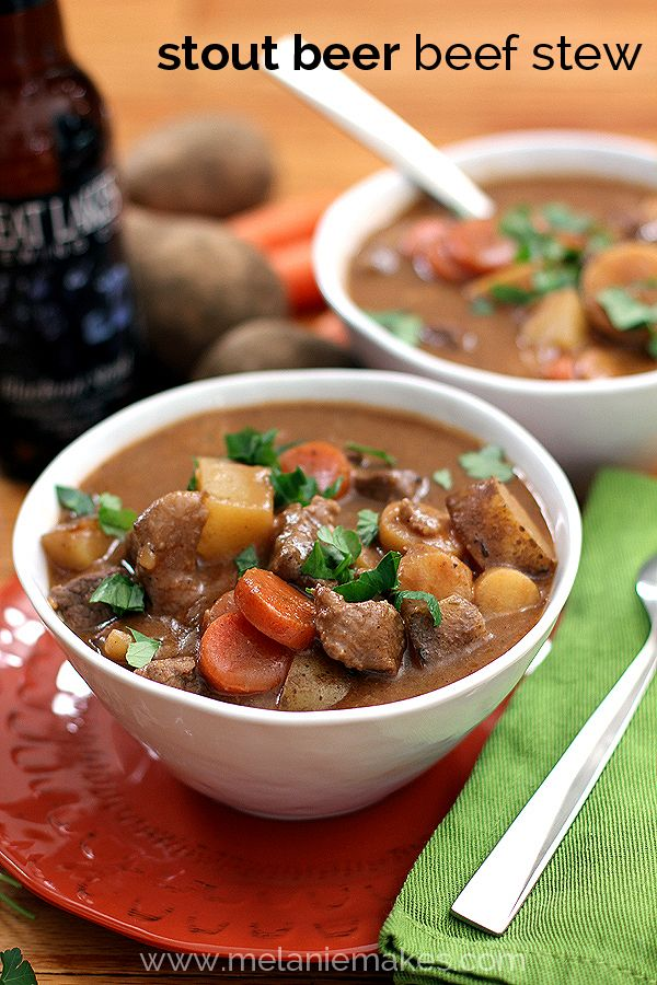 Stout Beer Beef Stew plus 60+ Recipes using Parsnips