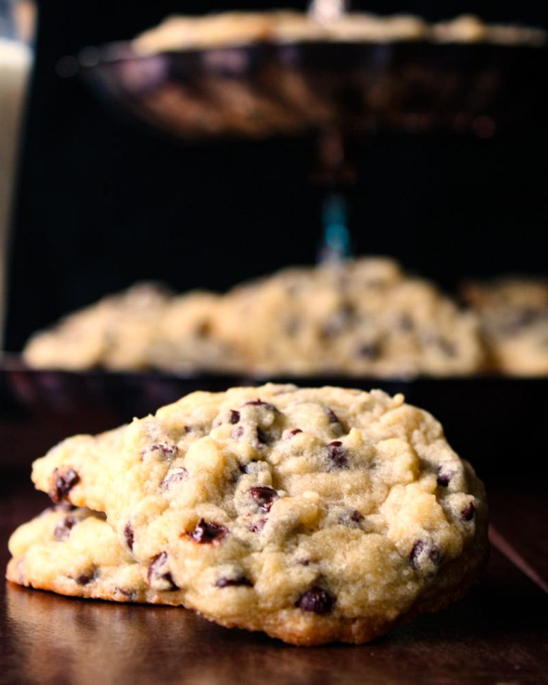 Bread Flour Chocolate Chip Cookies