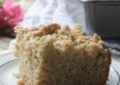 Banana Bread Coffee Cake. Your favorite banana bread made coffee cake style for a delicious morning treat.