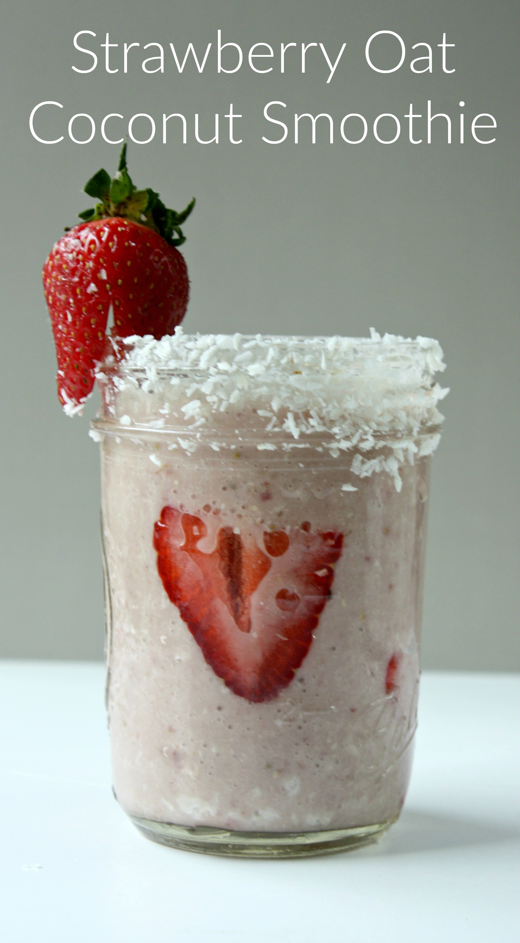 Strawberry Coconut Smoothie. Fuel your morning with this delicious smoothie combo of fresh strawberries and coconut.
