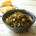Spicy Collard Greens with Bacon 1