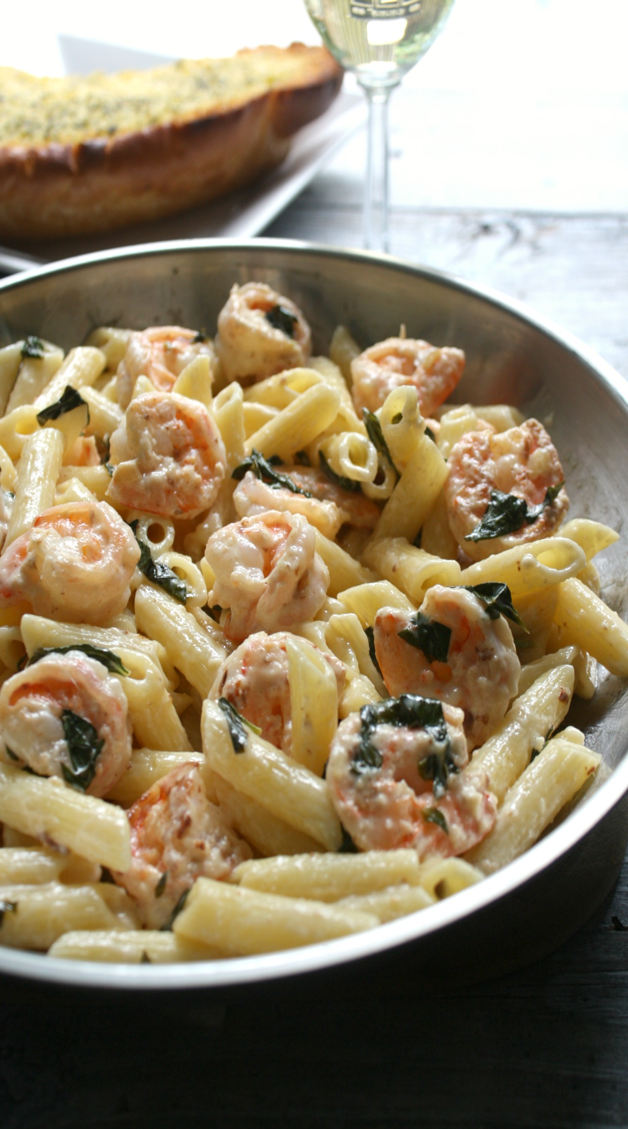 shrimp recipes dishmaps shrimp creamy white wine shrimp linguine lets ...