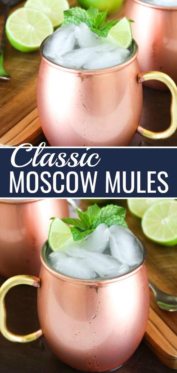 Classic Moscow Mule Recipe.