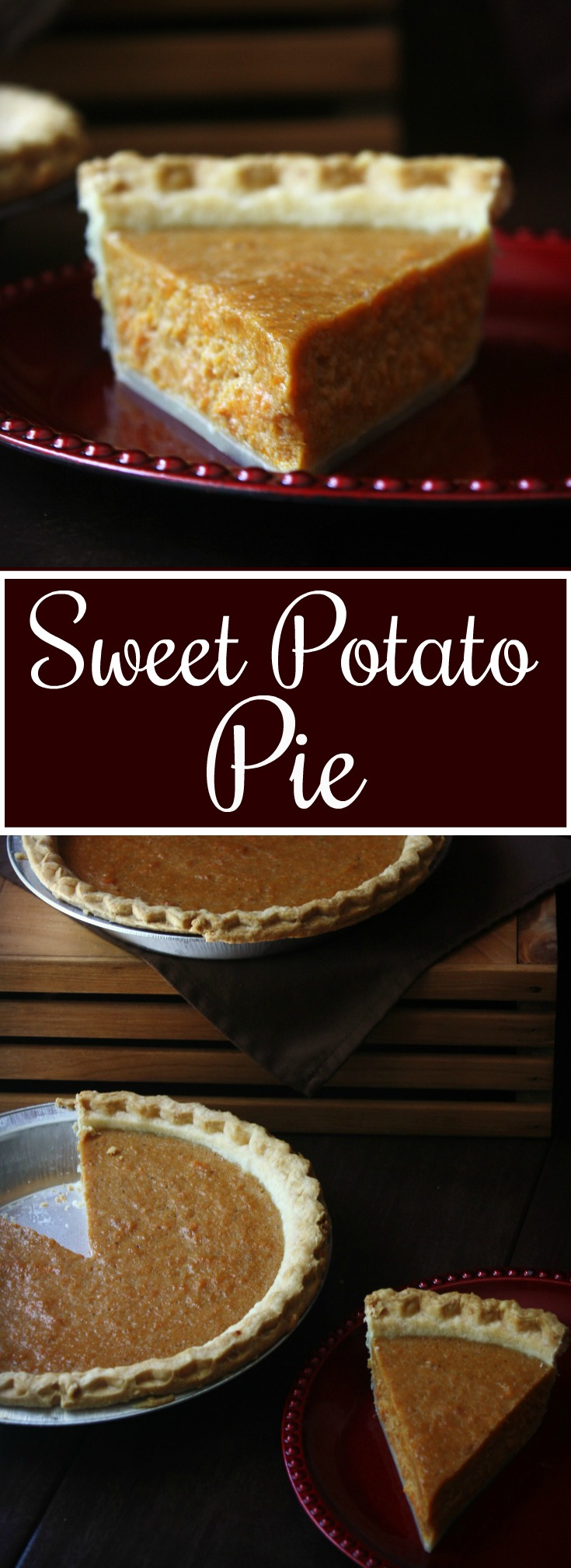 Sweet Potato Pie. My favorite Thanksgiving Pie