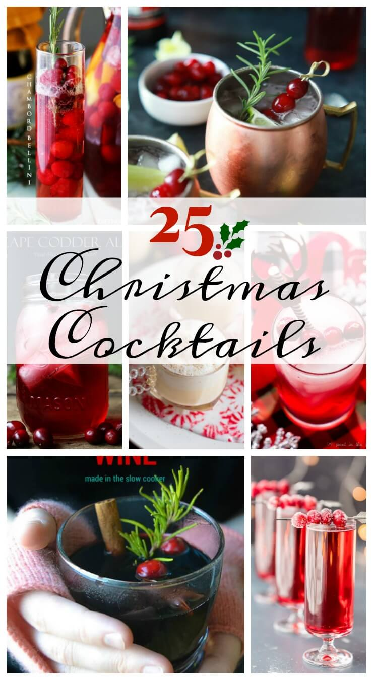 25 Christmas Cocktail Recipes