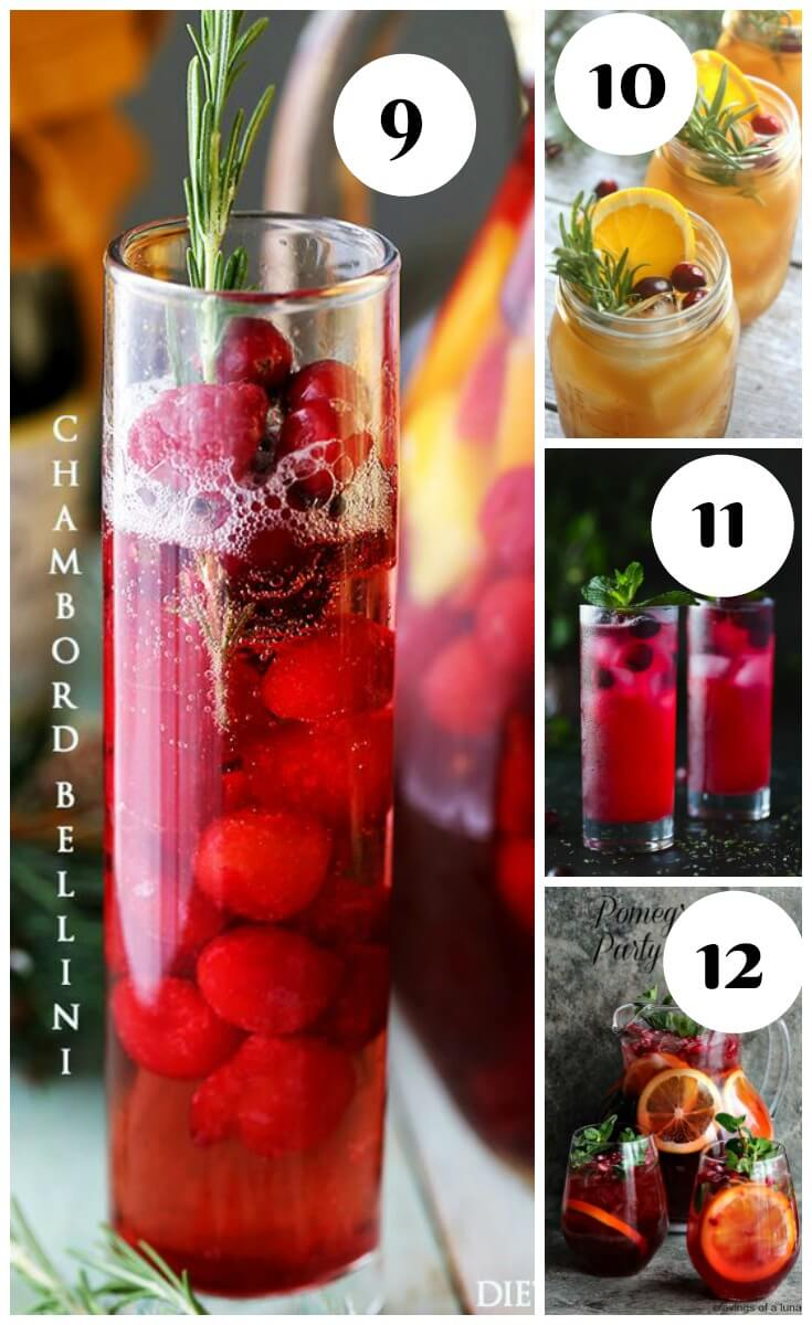 25 Christmas Cocktail - The Christmas Punch collection
