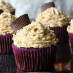 Chocolate Peanut Butter Cupcakes 1