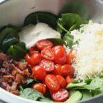 Bacon Tomato Spinach Salad