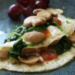 Egg White Veggie Omelet 1