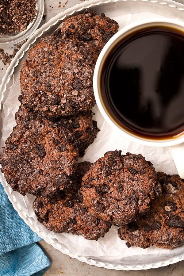 Chocolate Cheesecake Cookies + 20 Chocolate Cookies Recipes
