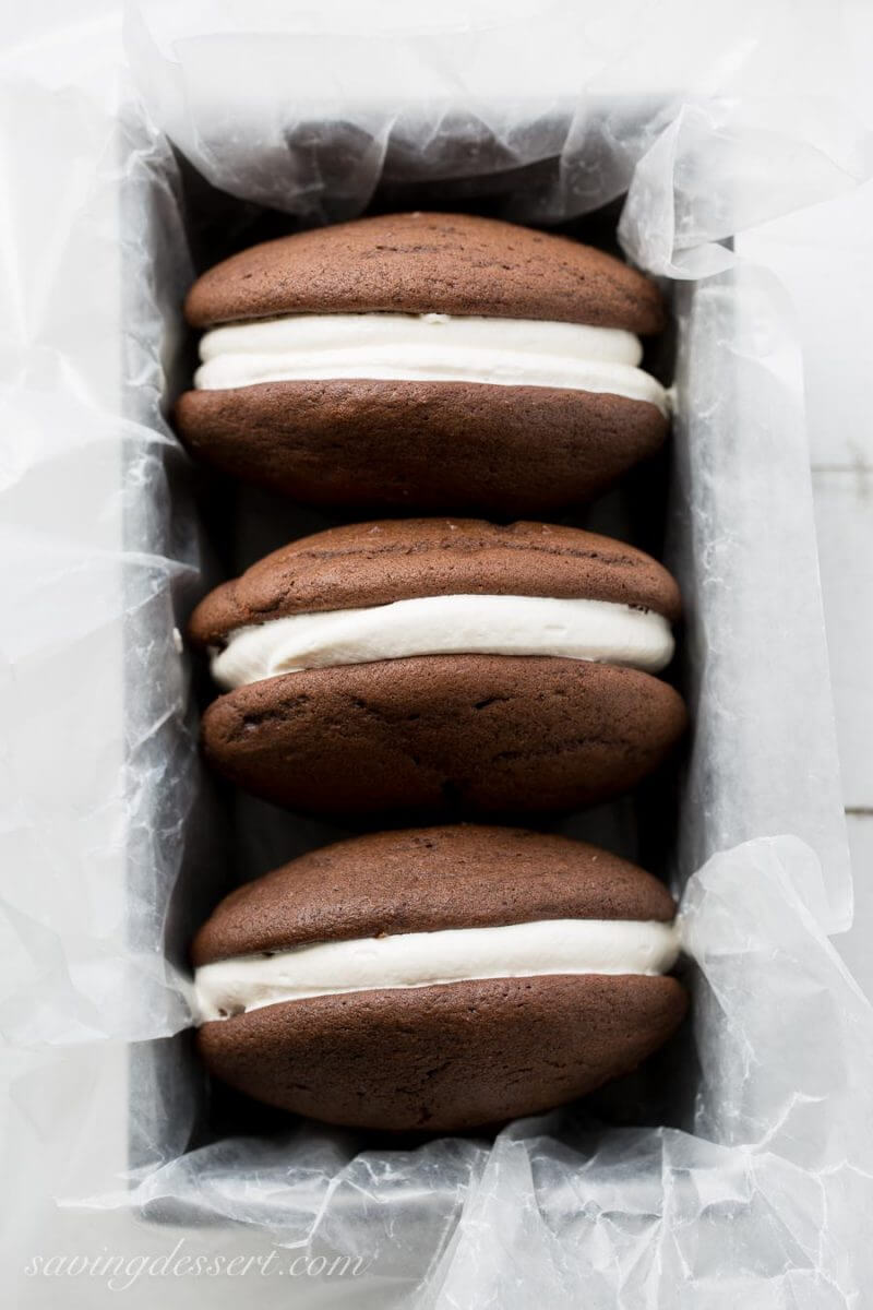 Whoopie Pies + 20 Recipes for Chocolate Cookies