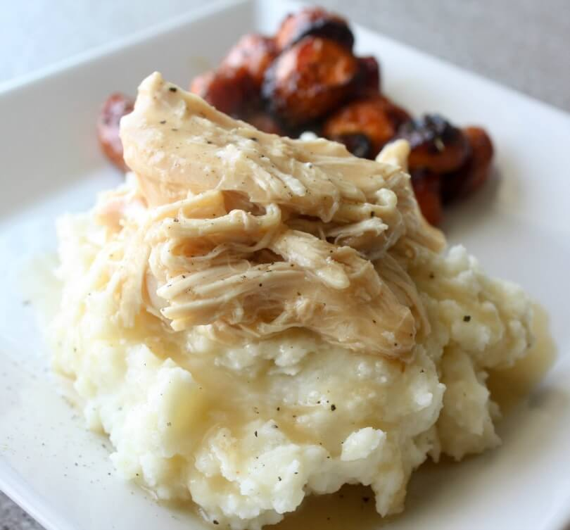 Crock Pot Chicken And Gravy Daily Appetite