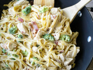Chicken Bacon Alfredo